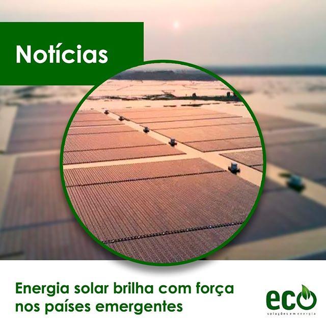 A energia solar está brilhando com força nas nações em desenvolvimento no mundo.